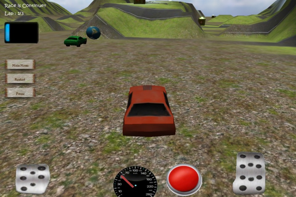 Screenshot 3D Car Challenger