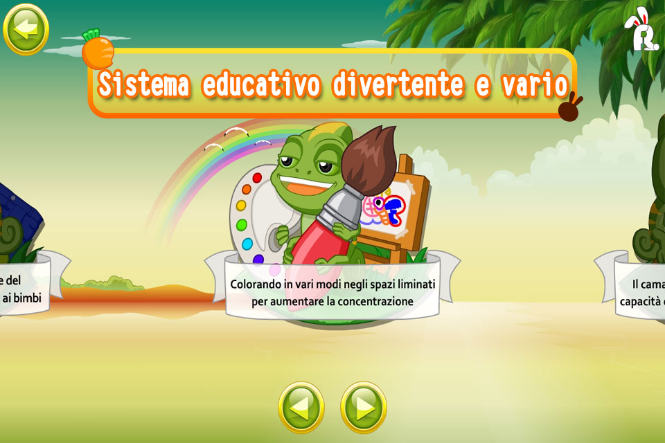 Screenshot FRUTTA CONIGLIO ENCICLOPEDIA PER I BAMBINI – IL MAGO DEL COLORE