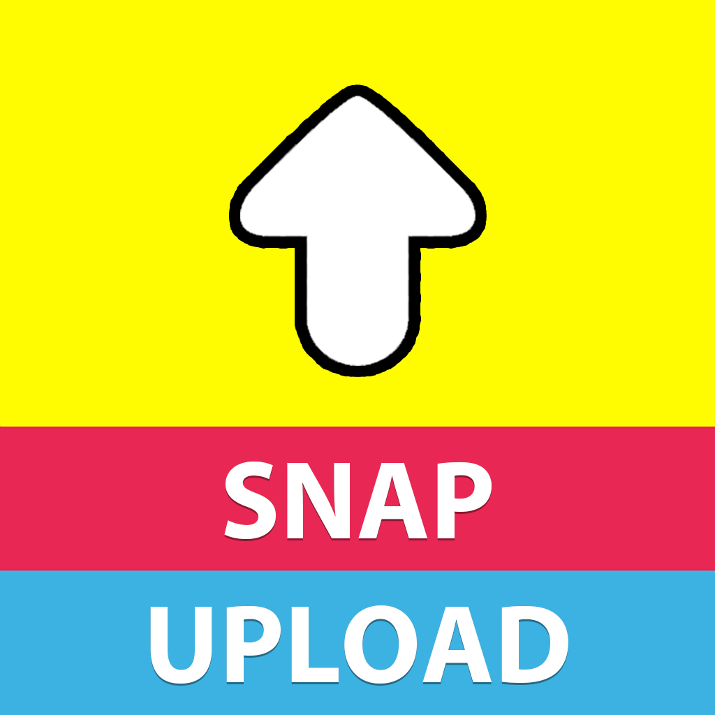 Snap Upload Free For Snapchat - Send photos & videos from your camera roll